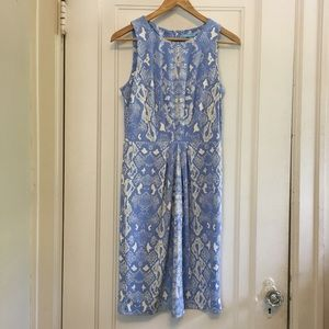 J. McLaughlin Sleeveless Pleated Dress